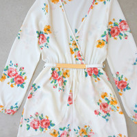 Painted Petal Romper [7130] - $41.00 : Feminine, Bohemian, & Vintage Inspired Clothing at Affordable Prices, deloom