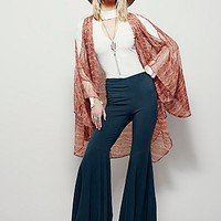 Free People Womens Trumpet Flare Pant