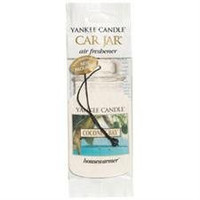 Coconut Bay Scent Classic Paper Car Jar Air Freshener by Yankee Candle