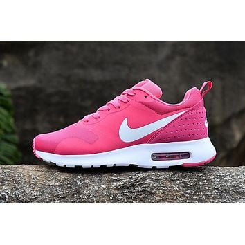 Nike Air Max87 Women Running Sport Casual Shoes Sneakers Pink