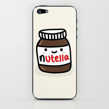 Nutella iPhone & iPod Skin by Iotara