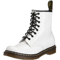Dr. Martens 1460 Originals Eight-Eye Lace-Up Boot,White Patent Leather,7 UK / 8 M US Mens / 9 M US Womens