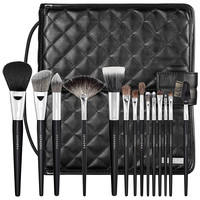 Sephora: SEPHORA COLLECTION : Deluxe Standing Easel Brush Set : brush-sets-makeup-brushes-applicators-tools-accessories