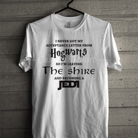 Lord of the rings HOGWARTS JEDI Funny Quotes Meme T Shirt -EN Unisex T- Shirt For Man And Woman / T-Shirt / Custom T-Shirt