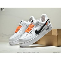 NIKE AIR FORCE 1 Tide brand men's and women's casual wild sports shoes #1