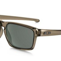 NEW Oakley - Silver - Sunglasses, Sepia w/ Dark Grey, OO9262-02
