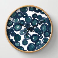 Saltwater Wall Clock by Social Proper