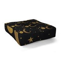 Morgan Kendall my moon and stars Floor Pillow Square