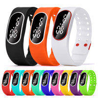 Fashion Unisex Women Man Boy Girl LED Sports Running Watch Date Casual Rubber Bracelet Digital Wrist Watch relogio