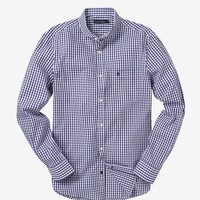 STAFFORDSHIRE RIFLE GINGHAM - Mens Shirts - French Connection Usa