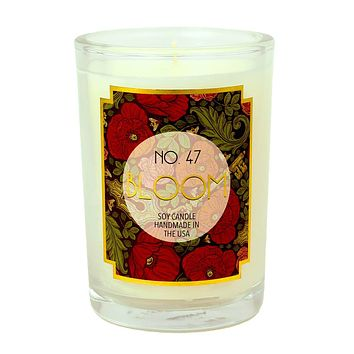 Bloom Scented Soy Wax Candle
