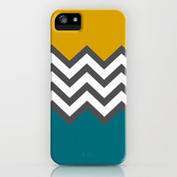 Color Blocked Chevron iPhone & iPod Case by Josrick
