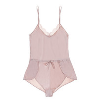 Signature Giverny Silk Sporty Chic Romper