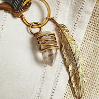 Free People Womens Quill Key Ring