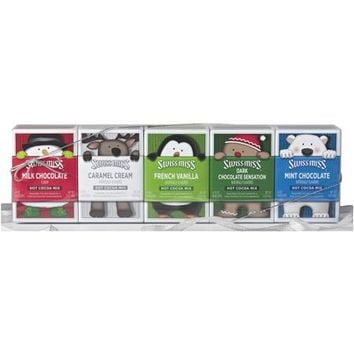 Swiss Miss Peek-A-Boo Holiday Cocoa Gift Box Collection, 5 count, 20 ounce - Walmart.com