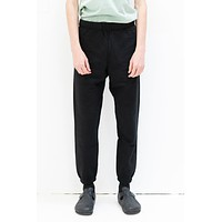 Pocket Sweat Pant in Black