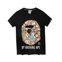 Cheap Women's and men's aape t shirt for sale 501965868-058