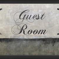 The Artwork Factory Guest Room Decorative Sign