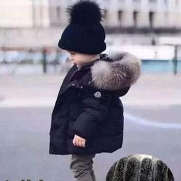 New Kids Toddler Boys Jacket Coats Thick Warm Down Children Outerwear Clothing Baby Boy Clothes Winter Child Windbreaker