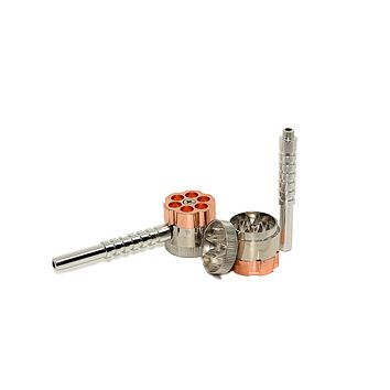 "6-Shooter Pipe w/ Attached Grinder (1.2"")(30mm)"