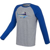 Guy Harvey Men's Clipper Raglan Long Sleeve Heather T-shirt | Academy