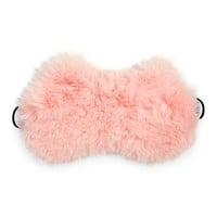Faux Fur Cat-Ear Sleep Mask