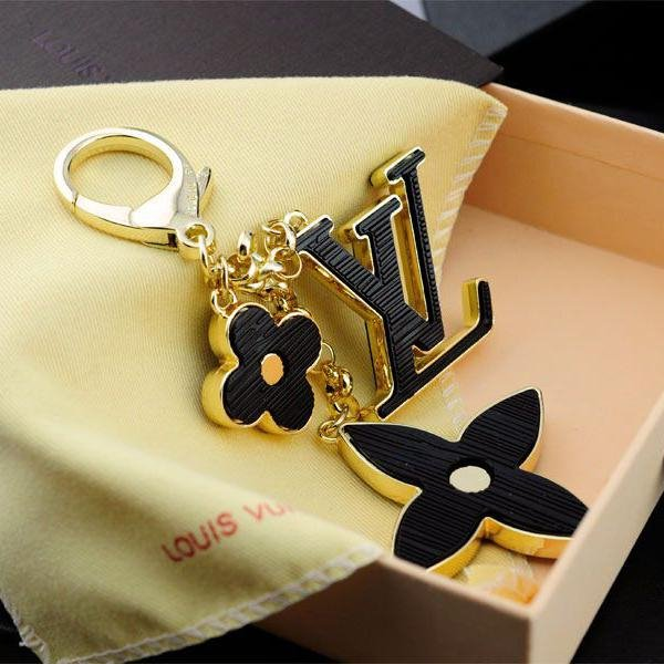Image of LV Woman Fashion Plated Key Buckle Bag Ornaments For Best Gift