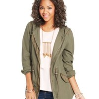 American Rag Hooded Anorak Jacket, Only at Macy's | macys.com