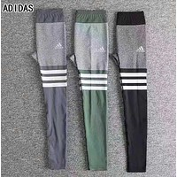 Adidas Autumn Fashion Women Elasticity Movement Leisure Yoga Pants