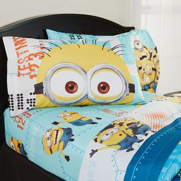 Despicable Me 'Minions' Bedding Sheet Set - Walmart.com