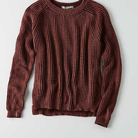 DON'T ASK WHY SIDE SLIT SWEATER