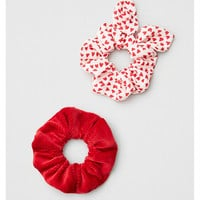 AE Red Scrunchie Pack, Red