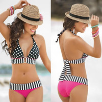 2015 hot Women Sexy Bikini Set Push-up Padded Bra Swimsuit Bathing Suit Swimwear = 1955980996