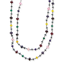 Variations in Agates, Necklace