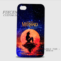 The Moon Ariel The Little Mermaid 3D Image Cases for iPhone 4/4S, iPhone 5/5S, iPhone 5C, iPhone 6, iPhone 6 Plus, iPod 4, iPod 5, Samsung Galaxy (S3, S4, S5, S6) by FixCenters