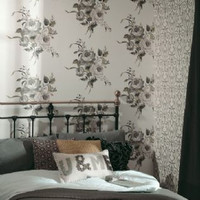 Holden Decor Wallpaper Statement Catharina Paste The Wall - Sepia - 97562