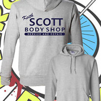 Keith Scott Hoodie - Unisex Hooded Top - One Tree Hill Jumper - Ladies & Mens