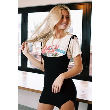 The Clash Collage Reverse Girlfriend Tee, Stone Vintage | DayDreamer