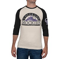 Colorado Rockies - Logo Alliance Raglan