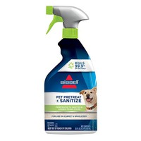 BISSELL Pet Pretreat + Sanitize Stain & Odor Remover (22 Ounces)