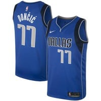 Men's Dallas Mavericks Luka Doncic Nike Royal Swingman Jersey - Best Deal Online