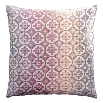 Opal Small Moroccan Velvet Pillow by Kevin O'Brien Studio