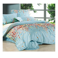 Cotton Active floral printing Quilt Duvet Sheet Cover Sets 2.0M/2.2M Bed Size 18