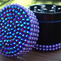 GRINDER -- MINIS Collection --  Lavender and Iridescent Mix