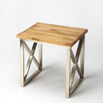 Butler Laudan Industrial Chic End Table
