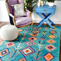 The Sahara Tribal Native Boho Area Rug