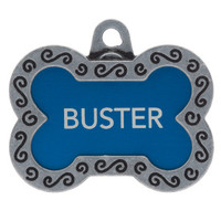 TagWorks® Designer Collection Large Bone Personalized Pet ID Tag