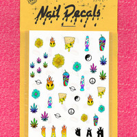 NAIL DECALS - 420 FRIENDLY - free shipping U S A - Andy Paerels