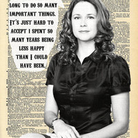 The Office Pam Beesly Dictionary Art Print