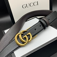 Gucci double g belt of the same type for men and women